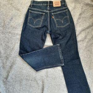 Levi's Retro Bootcut Jeans  dark wash size 4